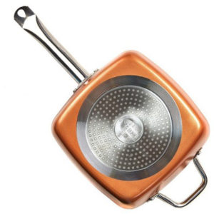 COPPER CHEF SQUARE PAN 9.5