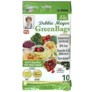 DEBBIE MAYER GREENBAGS 10 BAGS