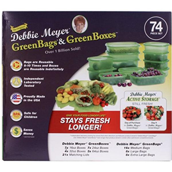 DEBBIE MEYER GREEN BOX 74 PIECE SET