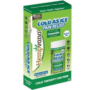 HEMPNAVA COLD AS ICE PAIN RELIEF