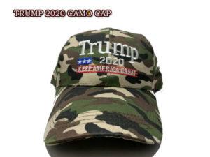 Trump Cap 2020 Camo