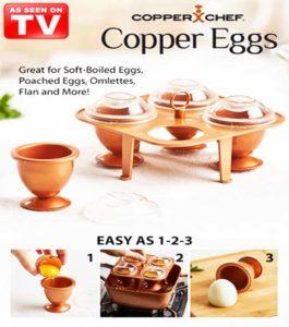 COPPER EGGS XL COPPER CHEF
