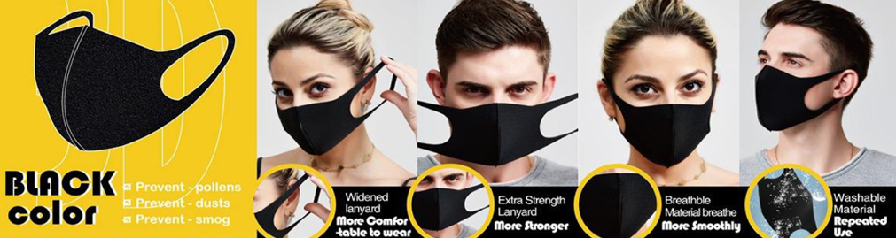 3D Spon Duct Fashion Mask