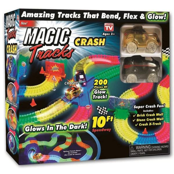 MAGIC TRACK CRASH