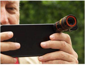 Tac zoom lens