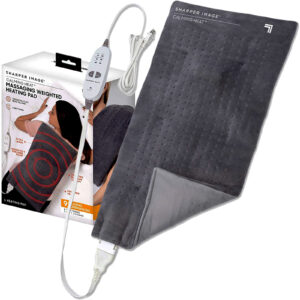 SHARPER IMAGE CALMING WEIGHTED HEATED PAD